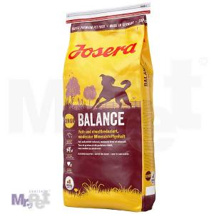 JOSERA hrana za pse Balance, dobro balansirana ishrana sa redukovanim proteinima i mastima 15 kg