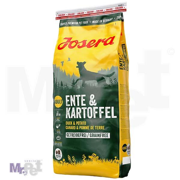 JOSERA hrana za pse Duck i potato, bez dodatka žitarica 15 kg