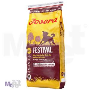 JOSERA hrana za pse Festival, sa delikatesnim sosom za izbirljive pse 15 kg