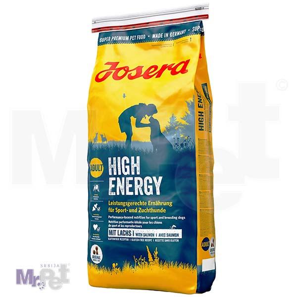 JOSERA hrana za pse High energy, puno energije za snagu i izdržljivost 15 kg