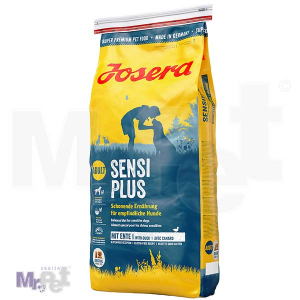 JOSERA hrana za pse Sensiplus, specijalna ishrana za osetljive pse 15 kg