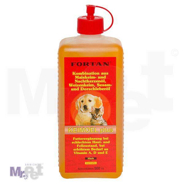 FORTAN Dodatak ishrani za pse i mačke Keimöl plus, 500 ml