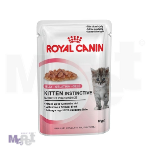 ROYAL Canin hrana za mačke KITTEN INSTINCTIVE IN JELLY, 12 x 85 g