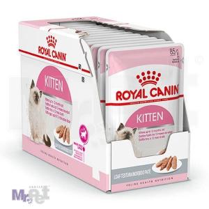 ROYAL Canin hrana za mačke KITTEN LOAF, 12 x 85 g