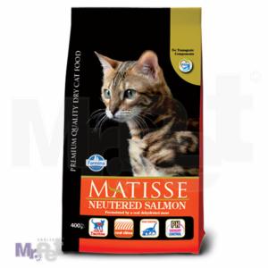 MATISSE hrana za mačke Adult Neutered losos & tunjevina 10 kg