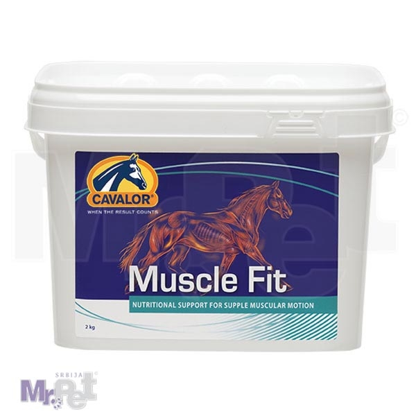 CAVALOR dodatak ishrani za konje MUSCLE FIT