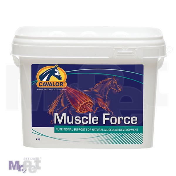 CAVALOR dodatak ishrani za konje MUSCLE FORCE