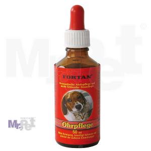 FORTAN preparat za čišćenje i negu ušiju Ohrpflege, 50 ml