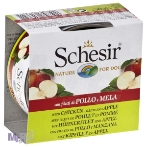 SCHESIR DOG hrana za pse piletina i jabuka 150 g