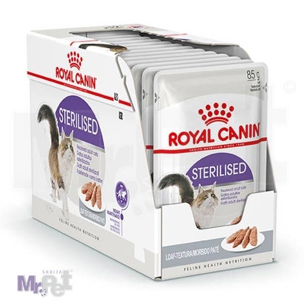 ROYAL Canin hrana za mačke STERILISED LOAF, 12 x 85 g