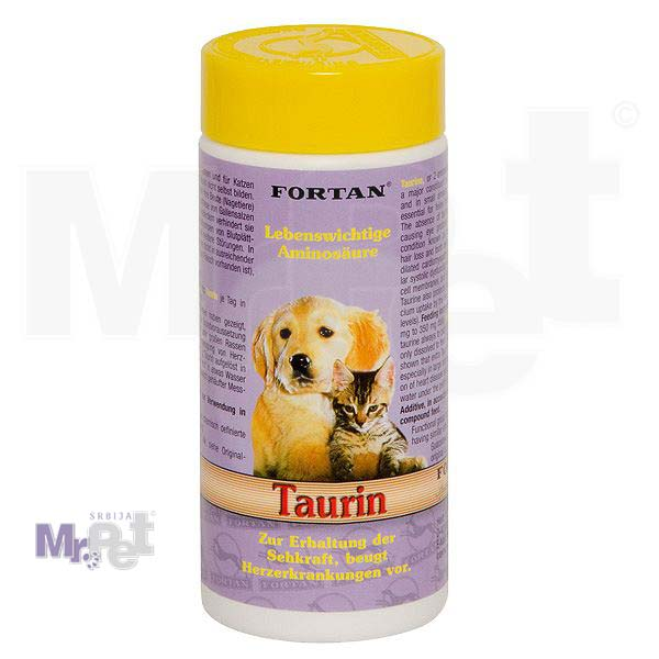 FORTAN dodatak ishrani za pse i mačke Taurin dodatak 90 g