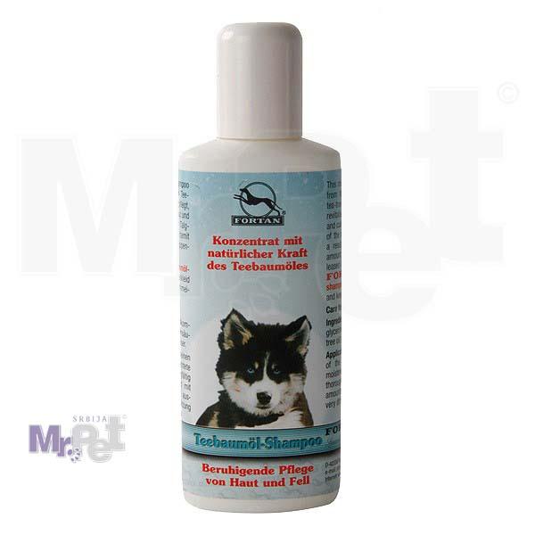FORTAN šampon za obnovu oštećene dlake, 125 ml Teebaumol