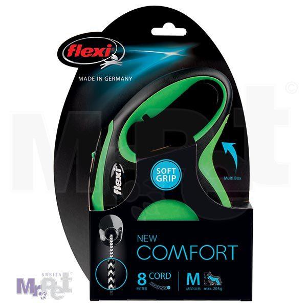 New Comfort M Cord 8m green INT CMYK 300 pak