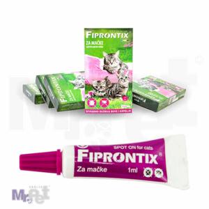 Fiprontix spot-on protiv buva i krpelja za mace 1-7 kg, 7 x 1 ml