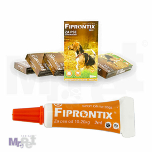Fiprontix spot-on protiv buva i krpelja za srednje pse 10-20 kg, 5 x 2 ml