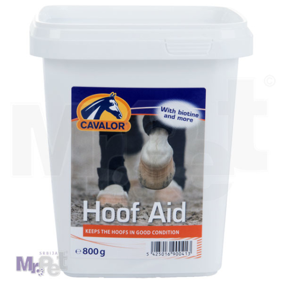 CAVALOR HOOF Aid preparat za rast i kvalitet kopita konja, 800 g