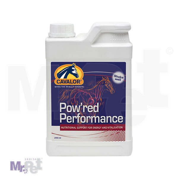 CAVALOR Pow'red Performance dodatak ishrani za konje, 2 l