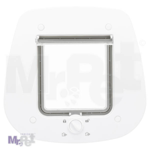 TRIXIE 4-Way Flap Door for Glass