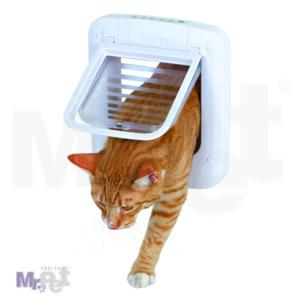 TRIXIE vratanca za mačke 4-Way Cat Flap, elektromagnetna