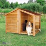 TRIXIE Lodge Dog Kennel DRVENA kućica za pse