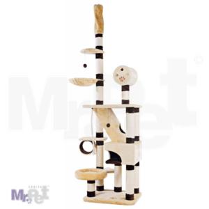 TRIXIE Belorado interaktivna grebalica za mačke, od poda do plafona