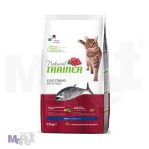 TRAINER Natural Adult Salmon hrana za mačke sa tunjevinom