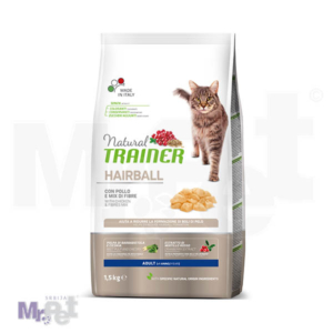 TRAINER Natural Adult Hairball hrana za mačke sa piletinom
