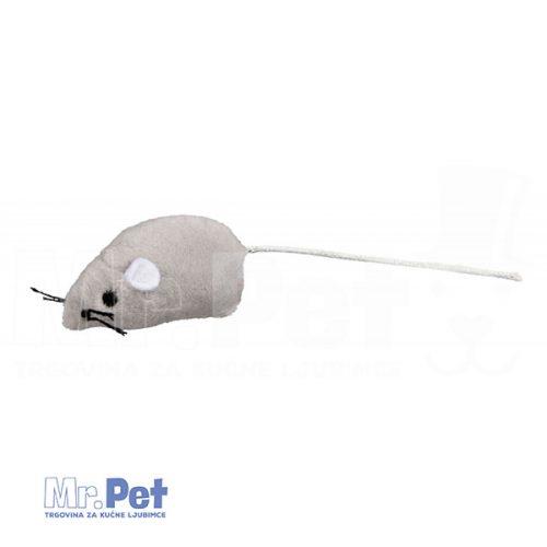 TRIXIE igračka za mačke plišani miš, 5 cm