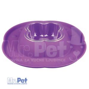 TRIXIE plastična činija za mačke Bowl Set