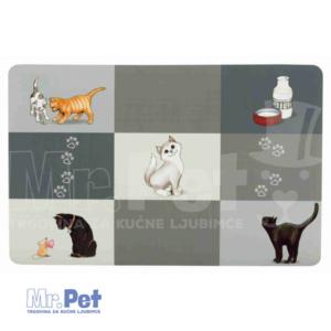 TRIXIE Patchwork podloga za činiju za mačke
