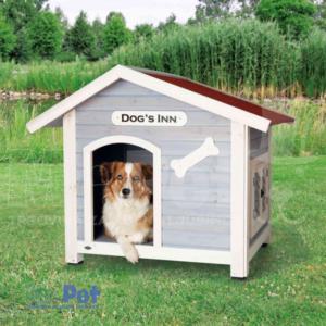 TRIXIE Dog's Inn DRVENA kućica za pse 107 x 93 x 90 cm