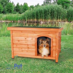 TRIXIE Classic Kennel DRVENA kućica za pse 85 x 58 x 60 cm