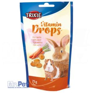 TRIXIE VITAMIN DROPS za glodare sa ukusom šargarepe