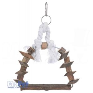 TRIXIE Arch Swing drvena ljuljaška za ptice