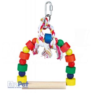 TRIXIE LJULJAŠKA za ptice Arch Swing, Colourful