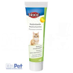 Trixie Multivitamin: Multivitaminska pasta za mačke/mačiće 100 g