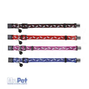 TRIXIE podložena ogrlica za mačke NUBOK