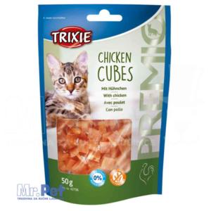 TRIXIE poslastica za mačke PREMIO Chicken Cubes