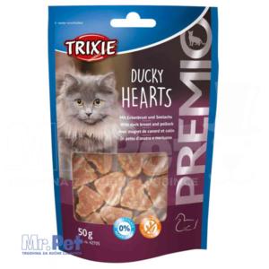TRIXIE poslastica za mačke PREMIO Ducky Hearts