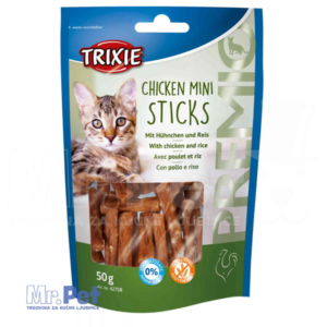TRIXIE poslastica za mačke PREMIO Chicken Mini Sticks