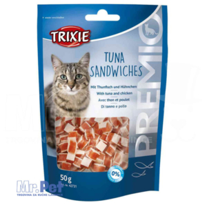 TRIXIE poslastica za mačke PREMIO tuna Sandwiches