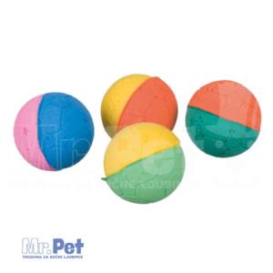 TRIXIE sunđer loptica igračka za mačke ø 4,3