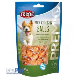 TRIXIE poslastica za pse kuglice PREMIO Rice Chicken Balls