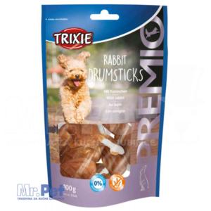 TRIXIE PREMIO Rabbit Drumsticks poslastica sa zečetinom 8  kom/100 g