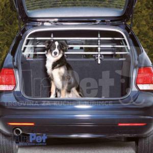 TRIXIE zaštitna alumin. ograda za prtljažnik automobila Car Dog Guard