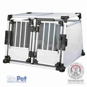 TRIXIE Transport Box, Double, aluminijumski transportni sanduk