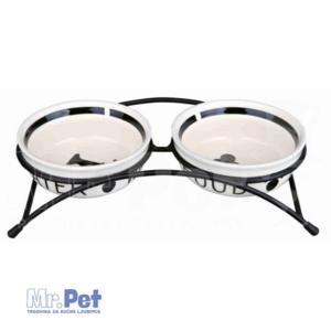 TRIXIE set činija za psa na stalku EAT ON FEET