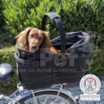 TRIXIE Bicycle Basket Long for Wide Bike Racks trasportna torba za biciklo