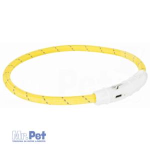 TRIXIE svetleća ogrlica za pse - USB L-XL