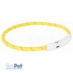 TRIXIE svetleća ogrlica za pse – USB M-L